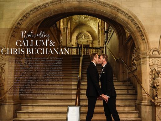 Chris and Callum's Oxford micro wedding in OX Wedding Magazine
