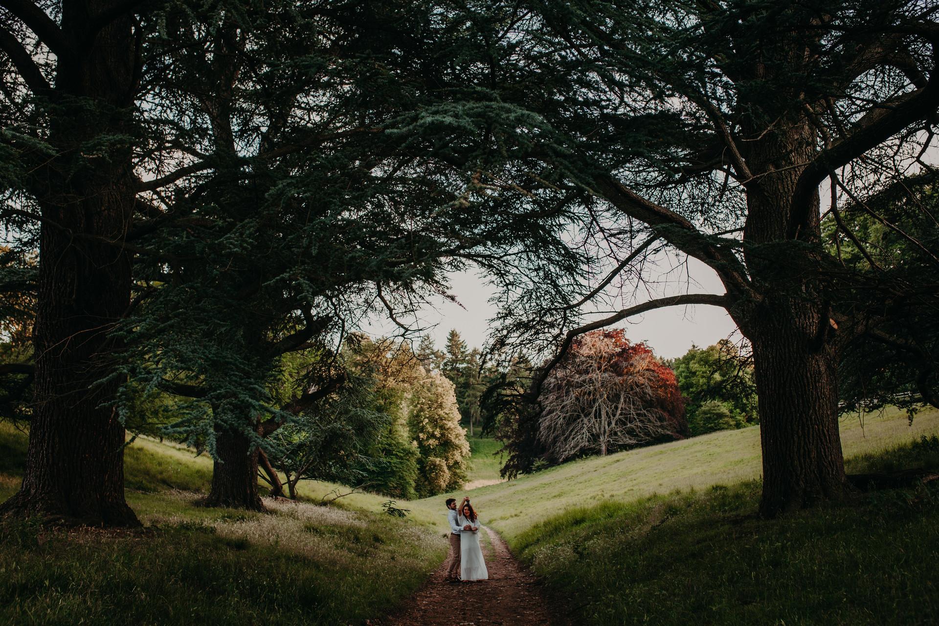 Blenheim Palace Engagement shoot