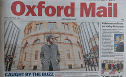 Gaz Coombes Oxford Mail