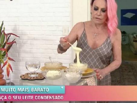 A importância do leite condensado para derreter Bolsonaro