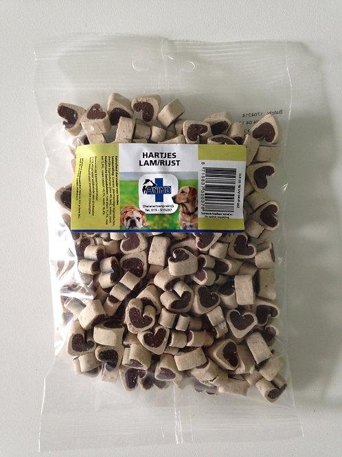 Hartjes lam/rijst voor hond 200 g ref.07-011