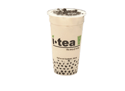 Pearl Milk tea no background