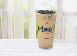 Oreo Milk Tea window background 4000 x 2