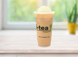 Ice Cream Milk Tea window background 400