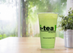 Peppermint Milk Tea window background 40