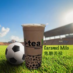 Caramel Milo design