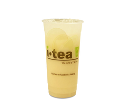 Fresh Lemon Yakult no background