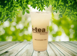 Yakult Green Tea outdoor background 4000
