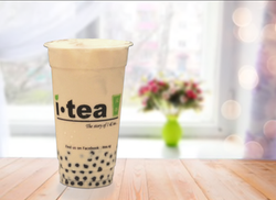 Honey Pearl Milk Tea window background 4