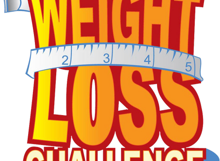 October 2018 Weight Loss Challenge