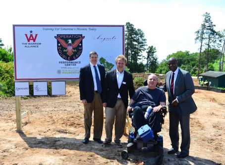 Augusta Groundbreaking for Operation Double Eagle