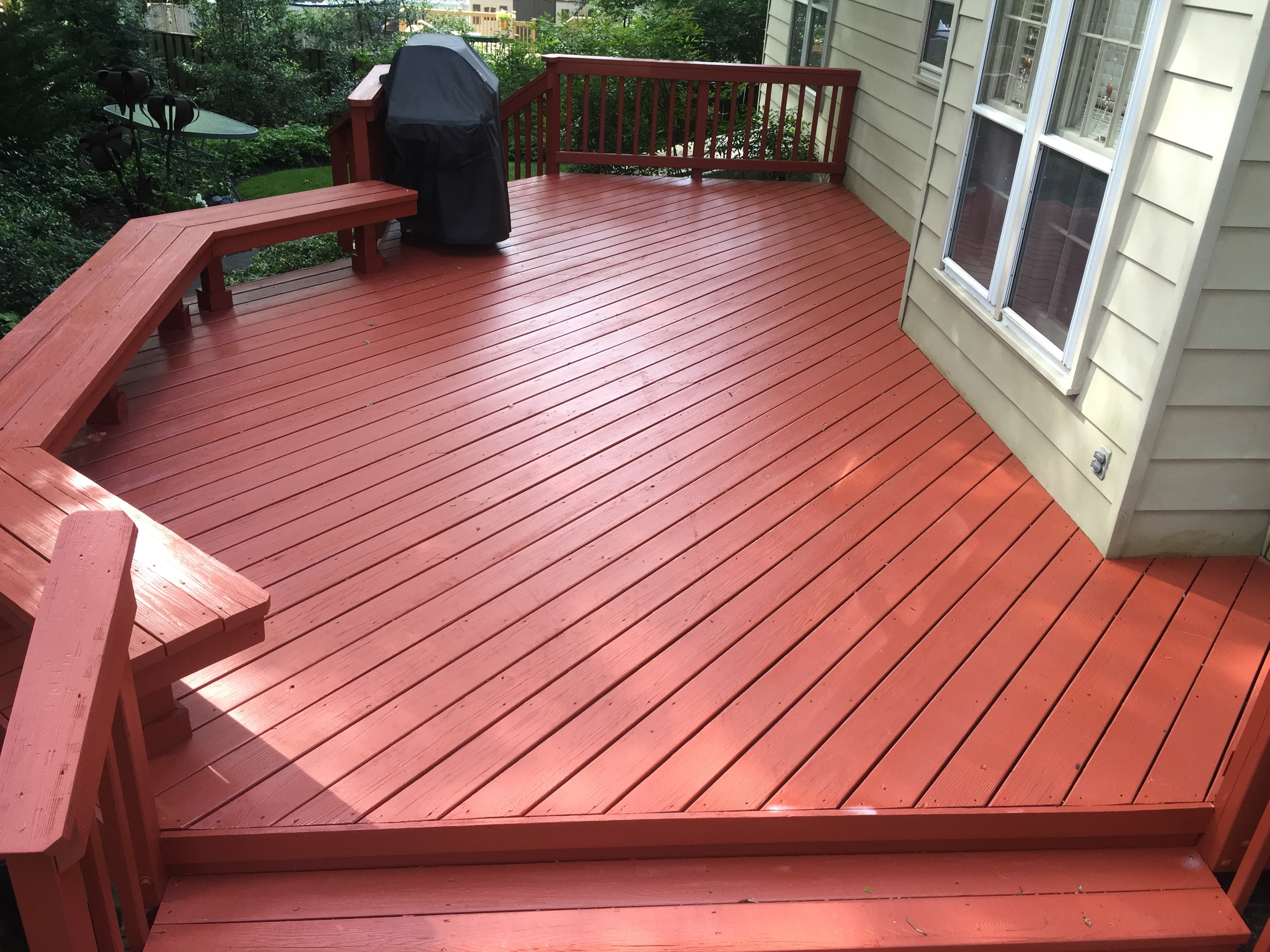 Solid Stain Navajo Red