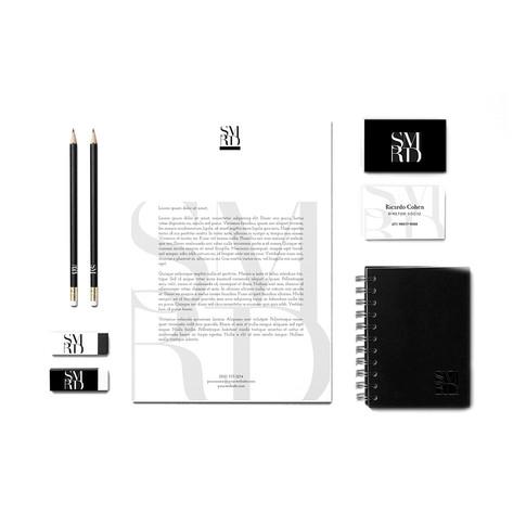 SImarida | Criação de logotipo + artes de papelaria e cartão de visita