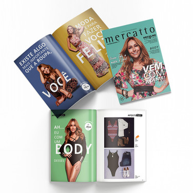 Mercatto   Revista Lançamento Coleção