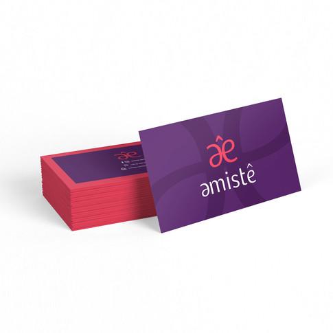 Amistê | Cartão de visita