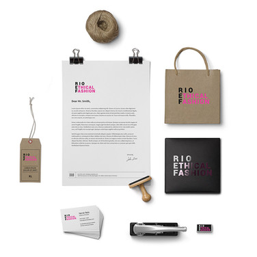 Rio Ethical Fashion | logo + branding + artes de papelaria