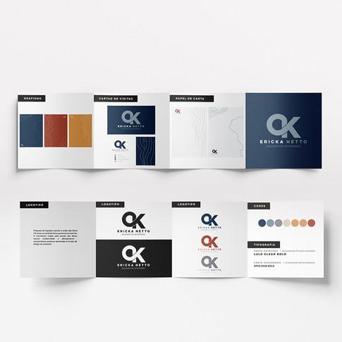 CK Netto   Brandboard da marca