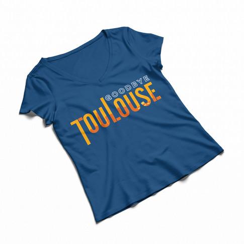 Goodbye Toulouse | T-shirt