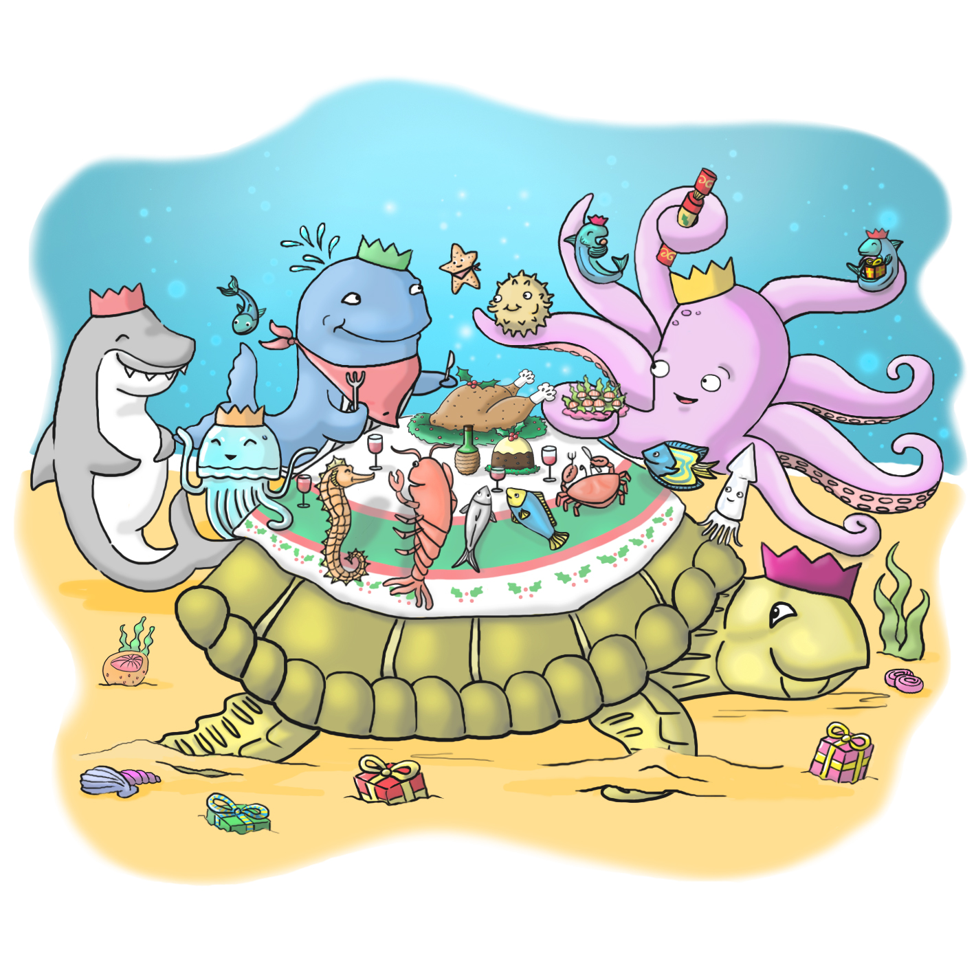 Under Sea Dining