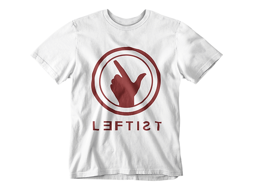 WE ARE LEFTIST TEE - WHITE