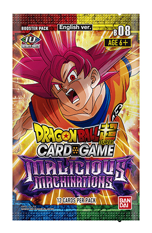 DBS Malicious Machinations Booster Pack **BREAK**