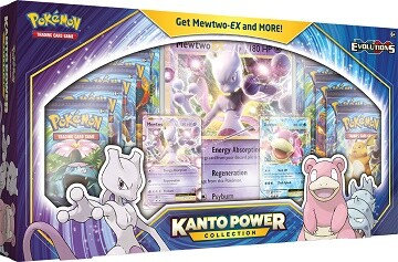 Pokémon TCG: Kanto Power Collectionft.Mewtwo-EX & Slowbro-EX