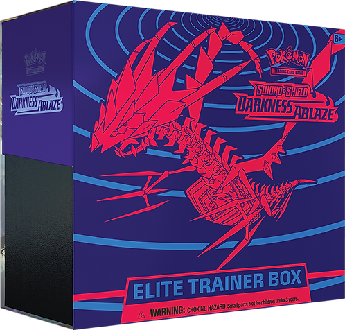 Darkness Ablaze - Elite Trainer Box Pokemon Sword and Shield TCG