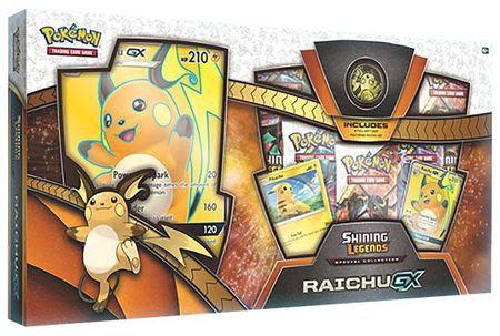 Shining Legends Raichu GX Collection Box (Pokemon)
