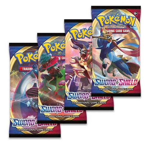 Sword and Shield Base Set Single Booster Pack