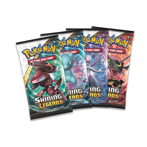 4 Packs Shining Legends - Free Shipping