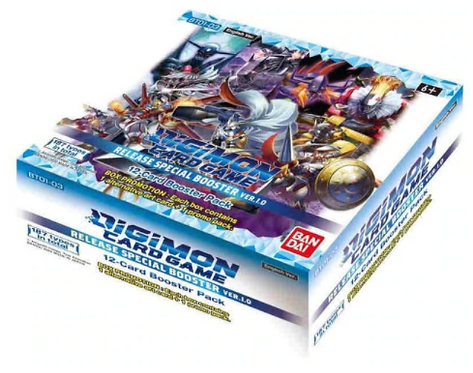 Digimon 1.0 Booster Box