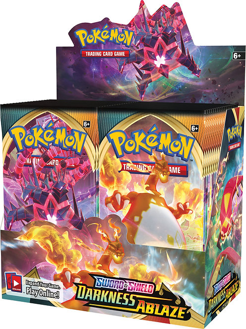 Pokemon Sword and Shield: Darkness Ablaze Booster Box - 36 packs Pokemon TCG