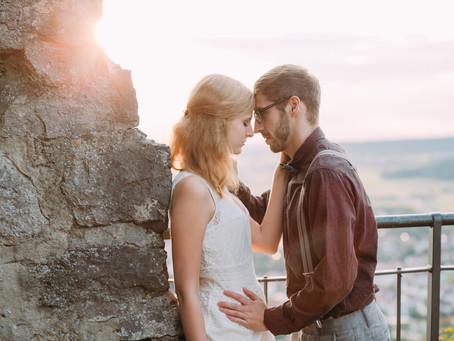 Liebesgeflüster auf der Burgruine