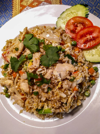 Thai Fried Rice Chicken