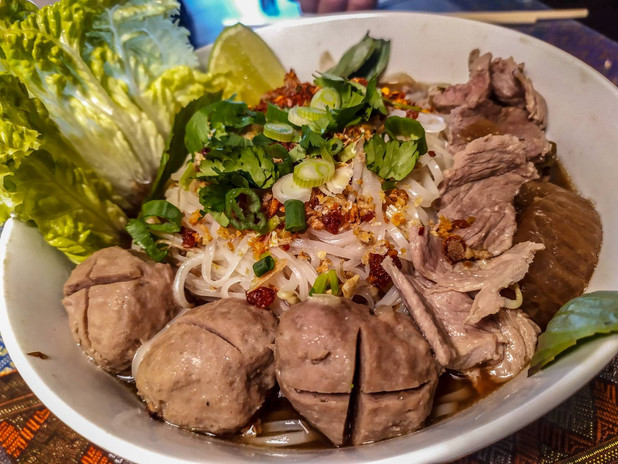 Thai Boat Beef Noodle