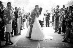 Cella Creative Wedding Bubble Exit