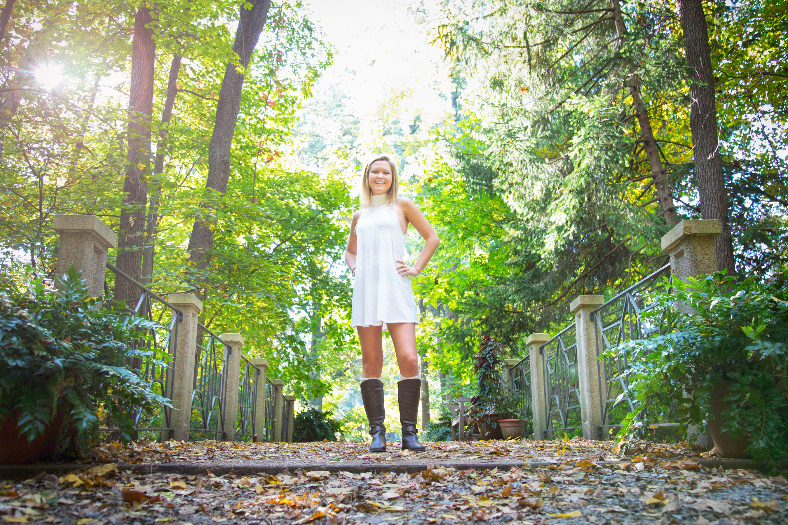 Senior Photos Inniswoods Park
