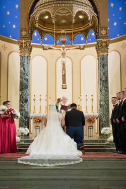 Wedding at St. Michael's Church