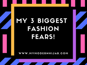 My 3 Biggest Fashion Fears