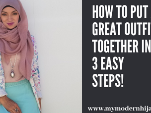 How to Put a Great Outfit Together in 3 Easy Steps!