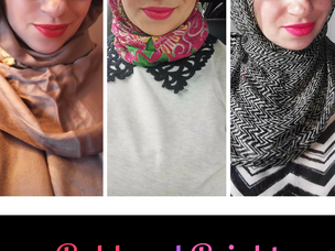 Obsessions of a Modern Hijabi Mom: Bold and Bright