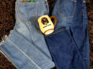 """My Search for the Perfect """"Mom Jeans"""""""