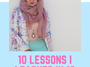 10 Lessons I Learned in 10 Years of Wearing Hijab