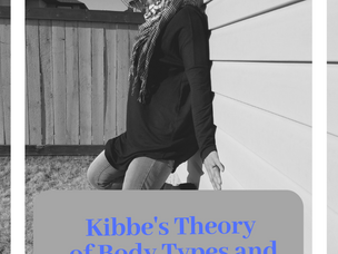 Kibbe's Theory of Body Types and Clothing Styles