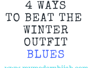 4 Ways to Beat the Winter Outfit Blues
