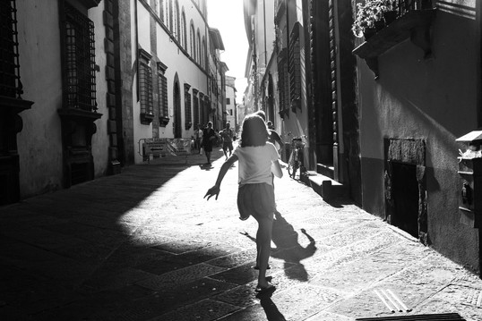The streets of Toscana