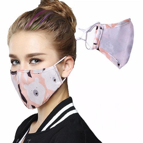 Antiviral Washable Cotton Face Mask - DCDG-006