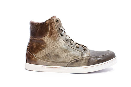 #202 BedStu Men's Leather High Top Sneaker