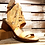 Thumbnail: #566 AS98 Women's Yellow/Orange Studded Hood Sandal