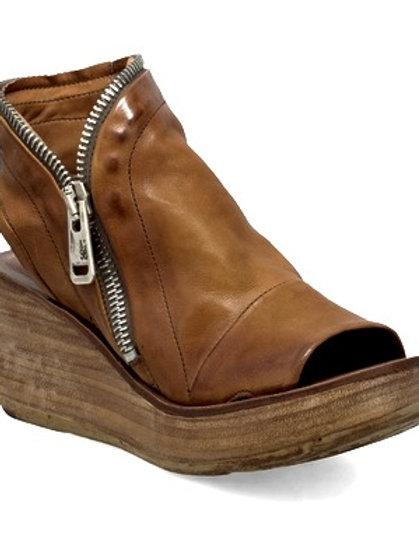 Deep Vintage Brown Only! Side ZipperWedge